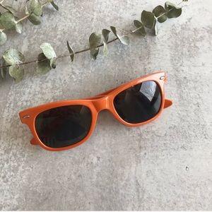 AJ MORGAN Orange Retro Sunglasses